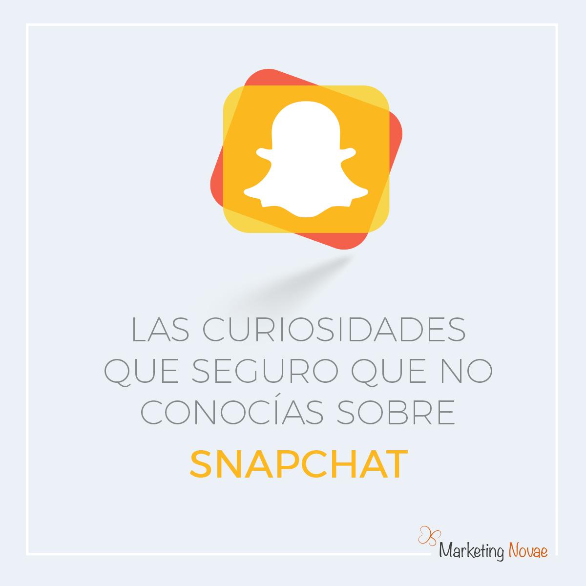 Curiosidades sobre Snapchat que seguro que no conocías